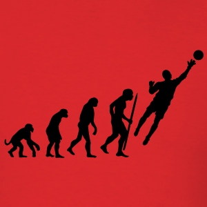 Evolution Goalkeeper Soccer T-Shirts - Men's T-Shirt