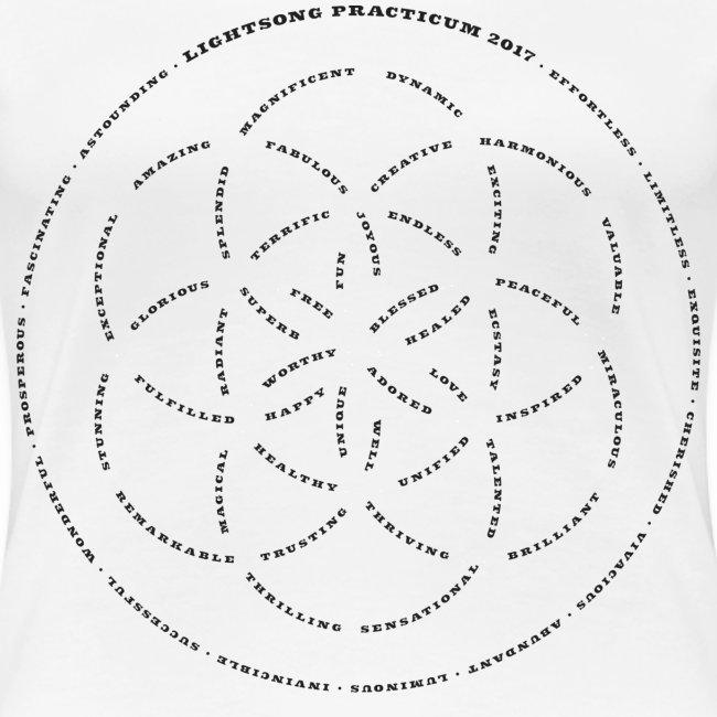 LightSong Practicum 2017 Lotus Women's T-Shirt