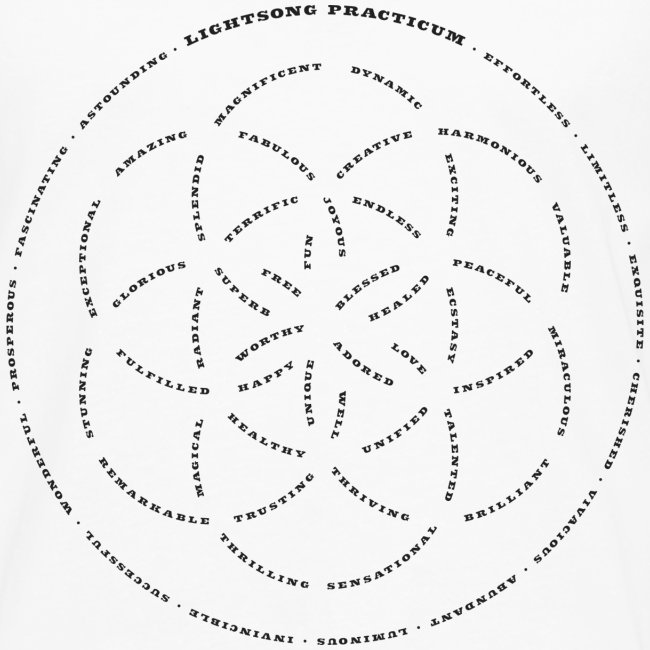 LightSong Lotus Men's Long Sleeve