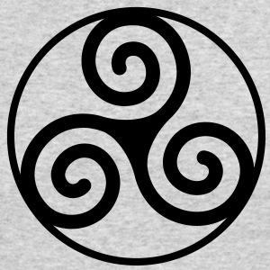 Triskelion - Men's Long Sleeve T-Shirt by Next Level