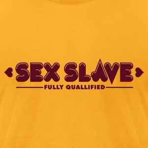 Sex Slave 1c T-Shirts - Men's T-Shirt by American Apparel
