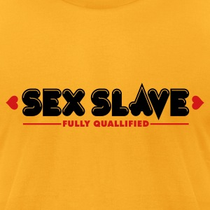 Sex Slave 2c T-Shirts - Men's T-Shirt by American Apparel