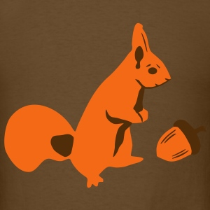 Squirrel and Nut T-Shirts - Men's T-Shirt