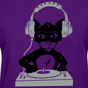 Kitty Scartching (Womens) - Women's T-Shirt