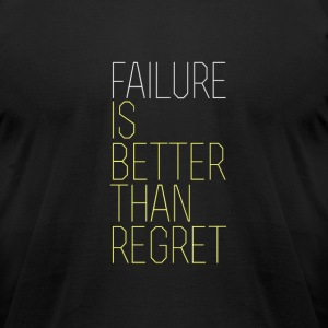 Failure vs. Regret - Men's T-Shirt by American Apparel