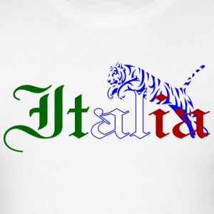 Italy Tiger Men - Men's T-Shirt
