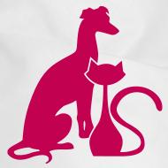 Design ~ PAWS Logo Pink Dog Bandana