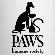 Design ~ PAWS Logo Black Mug