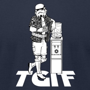 TGIF STORMTROOPER T-Shirts - Men's T-Shirt by American Apparel