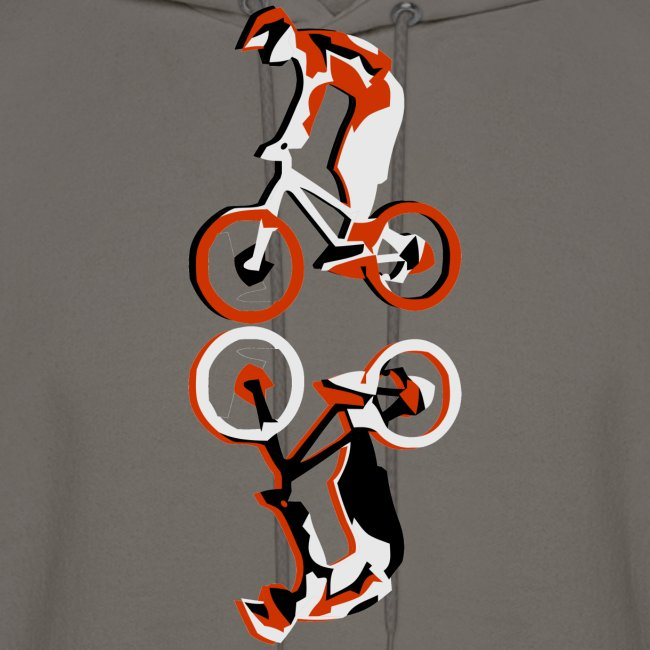 MTB Hoodie - Downhill Rider II