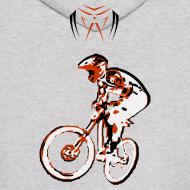 Design ~ MTB Hoodie - Downhill Rider II