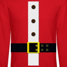 Santa's Coat Long Sleeve Shirts