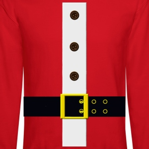 Santa's Coat Long Sleeve Shirts - Crewneck Sweatshirt