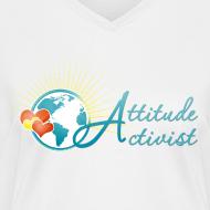 Design ~ Attitude Activist V-neck