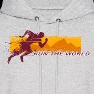 Design ~ Run the world hoodie