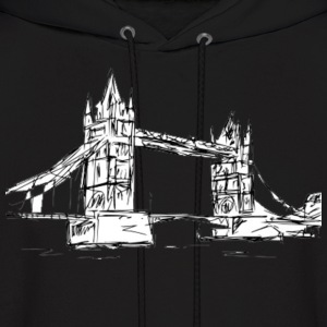 london bridge Hoodies - Men's Hoodie
