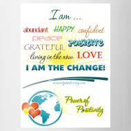 Design ~ Power of Positivity Affirmation Mug