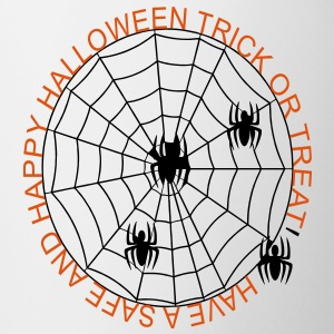 safe_and_happy_trick_or_treat_spiders2 Accessories - Coffee/Tea Mug