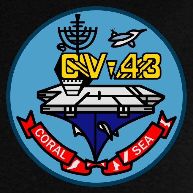 USS CORAL SEA 1989 FINAL CRUISE SHIRT