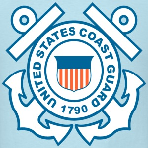 Coast Guard Symbol T-Shirts - Men's T-Shirt