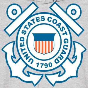 Coast Guard Symbol Hoodies - Men's Hoodie