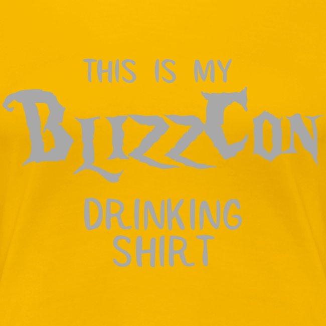 BlizzCon Drinking Shirt (Glitter Text)