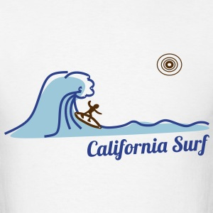 California Surf T-Shirts - Men's T-Shirt