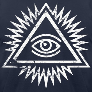 Eye of providence by Control Z Clothing T-Shirts - Men's T-Shirt by American Apparel