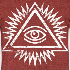 Eye of providence by Control Z Clothing T-Shirts - Unisex Tri-Blend T-Shirt by American Apparel