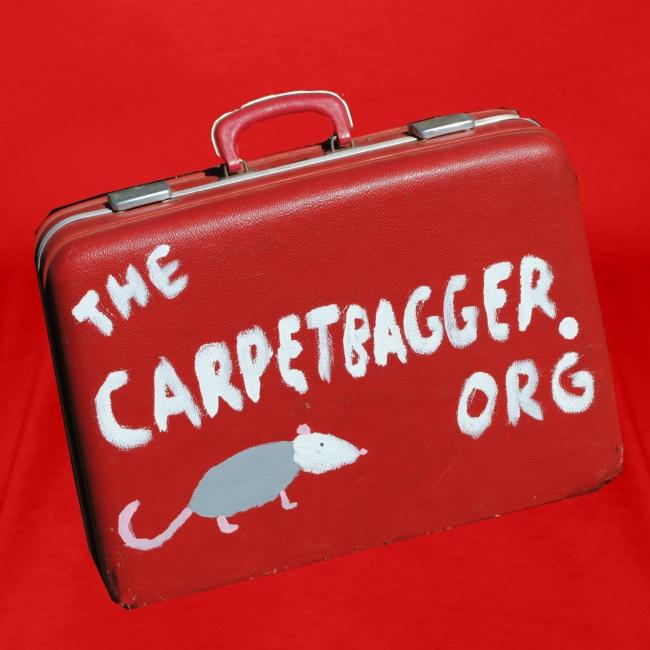 Carpetbagger Woman's Suitcase Shirt
