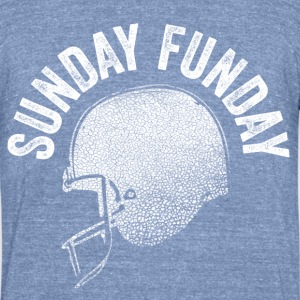 Sunday Funday - Unisex Tri-Blend T-Shirt by American Apparel