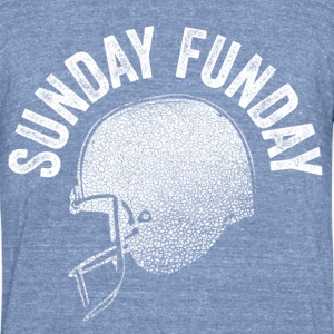 Sunday Funday - Unisex Tri-Blend T-Shirt
