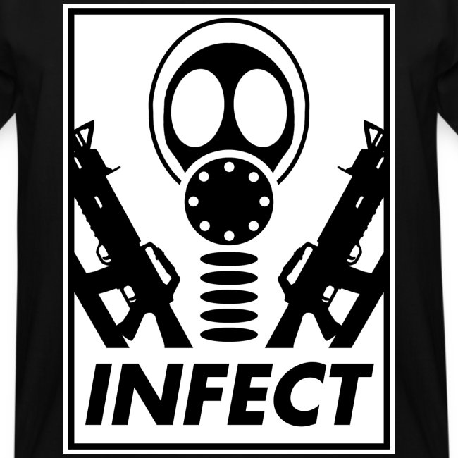 INFECT WORLD DOMINATION TALL TEE