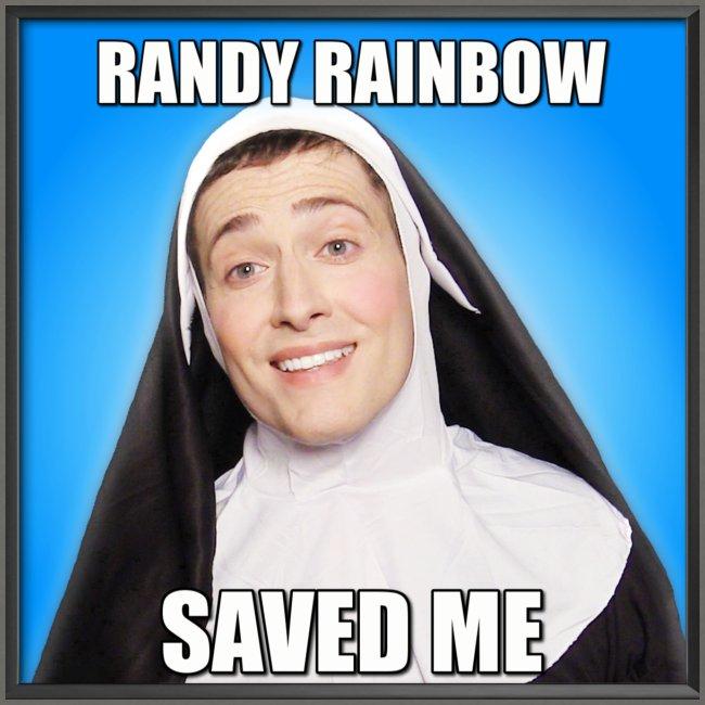 RR SAVED ME UNISEX SWEATSHIRT