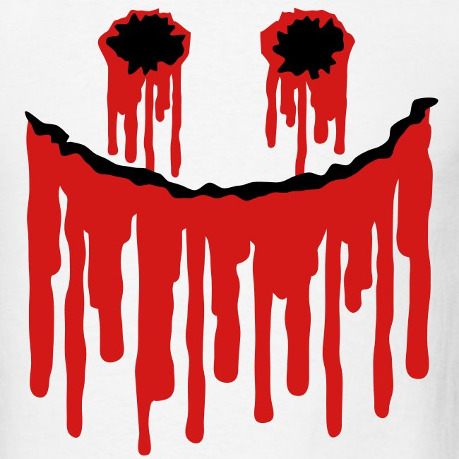 Halloween Smiley Slasher Face