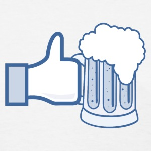 Like Beer - Facebook Parody T-Shirts - Women's T-Shirt