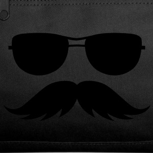 sunglasses and mustache Bags  - Duffel Bag