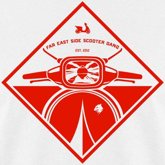 Team Mongoose Far East Side Scooter Gang Guys Mens T Shirt