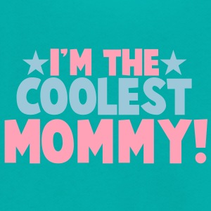 I'm the COOLEST Mommy! Zip Hoodies/Jackets - Unisex Fleece Zip Hoodie by American Apparel