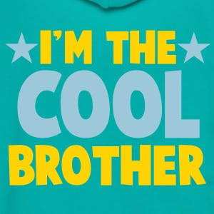 I'm the COOL Brother Zip Hoodies/Jackets - Unisex Fleece Zip Hoodie by American Apparel
