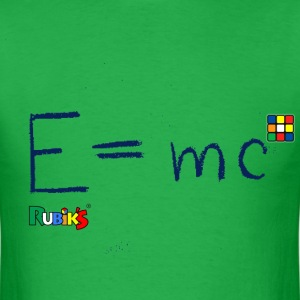 E=mc Blue - Men's T-Shirt