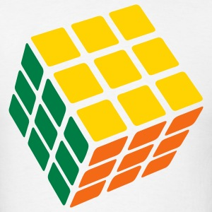 3 Color Cube - Men's T-Shirt