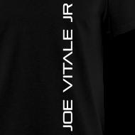 Design ~ Joe Vitale Jr (Verticle) T-Shirt (Dark Matter Black)