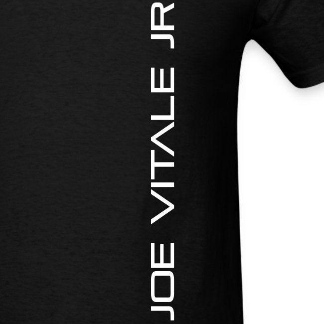 Joe Vitale Jr (Verticle) T-Shirt (Dark Matter Black)