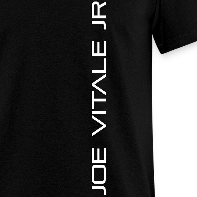 Joe Vitale Jr (Verticle) T-Shirt (Dark Matter Black)