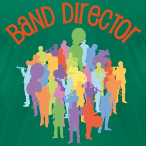 Marching Band Director T-Shirts - Men's T-Shirt by American Apparel