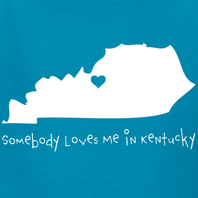 Somebody Loves Me in Kentucky - Kids Tshirt