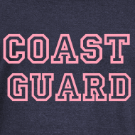 Design ~ COAST GUARD Wideneck Sweatshirt