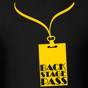 Backstage Pass T-Shirts - Men's T-Shirt