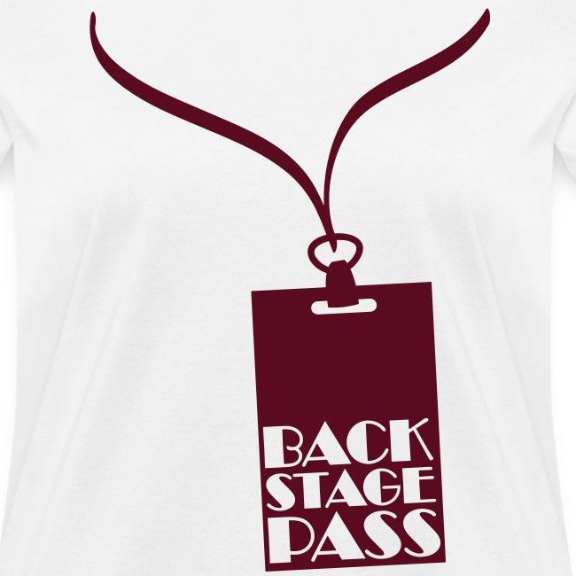 Backstage Pass T-Shirt | Women's T-Shirt